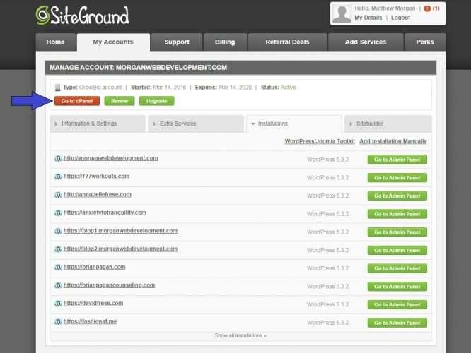 siteground_home_panel